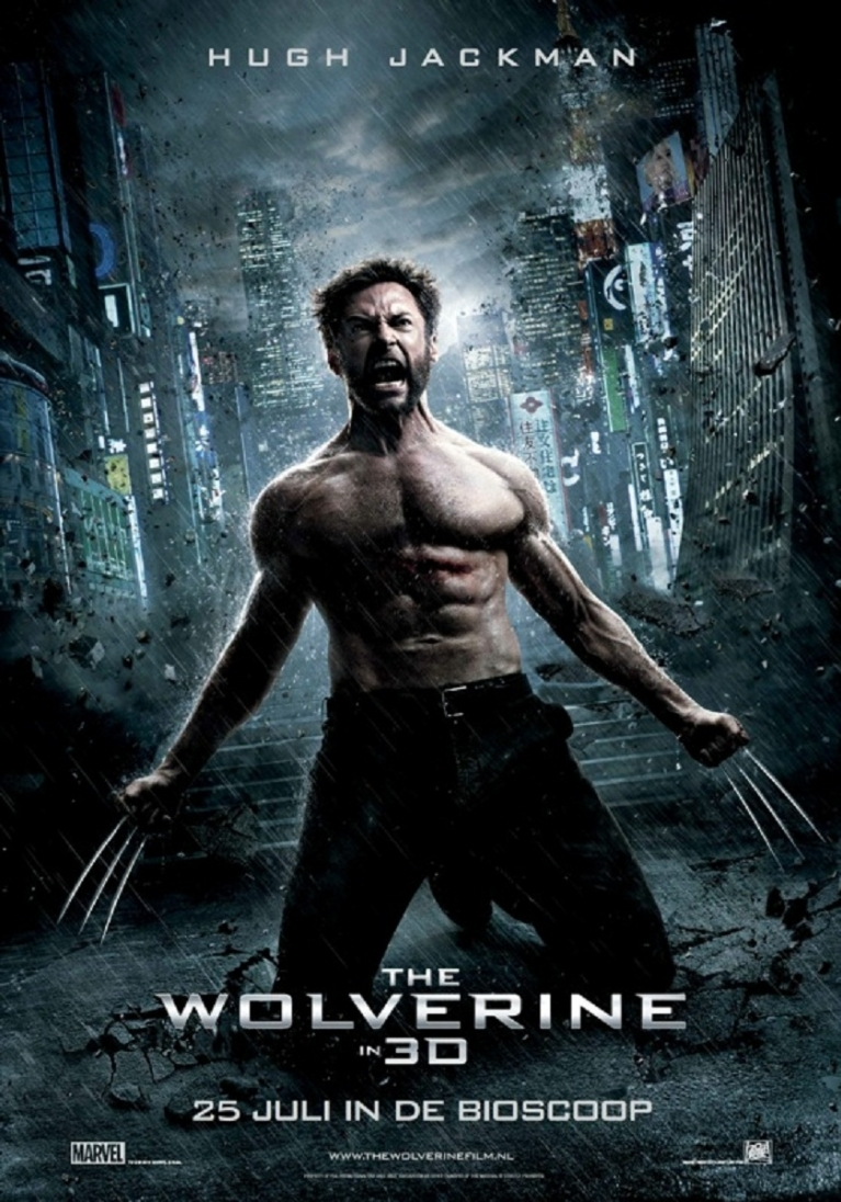 The Wolverine poster, © 2013 20th Century Fox