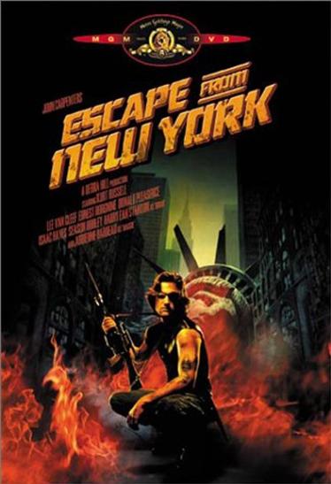 Escape from New York poster, copyright in handen van productiestudio en/of distributeur
