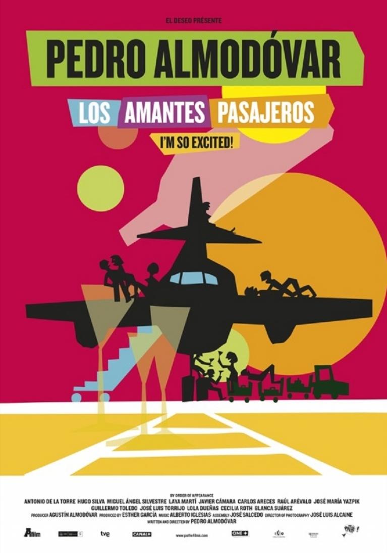 Los Amantes Pasajeros poster, © 2013 A-Film Distribution