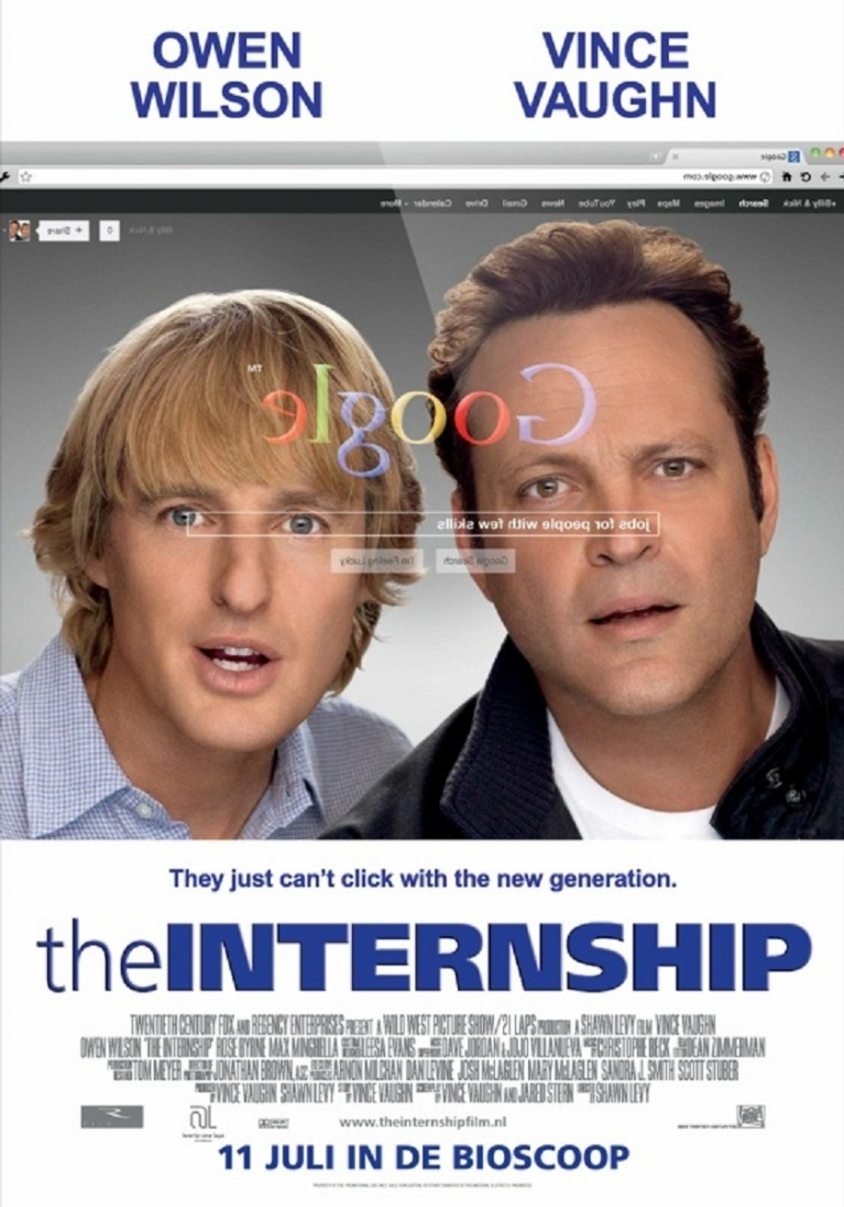 The Internship poster, © 2013 20th Century Fox