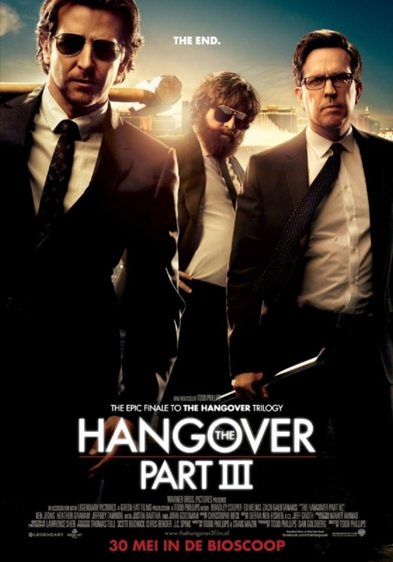 The Hangover Part III poster, © 2013 Warner Bros.