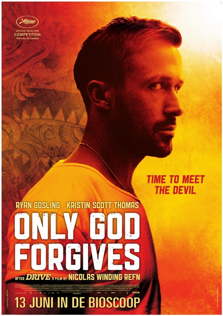 Only God Forgives poster, © 2013 Cinéart