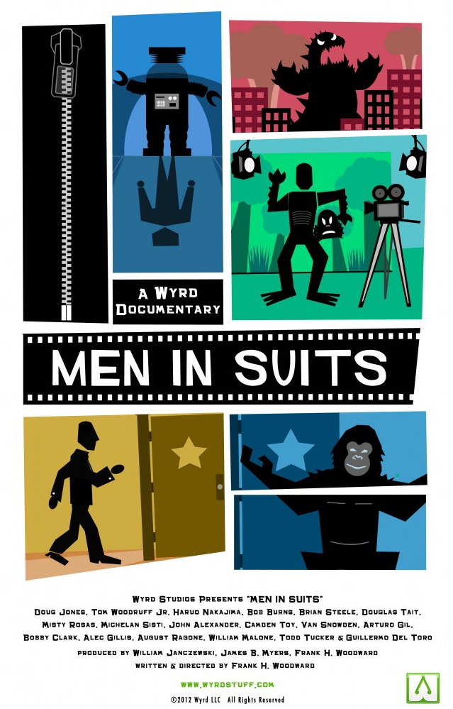 Men in Suits poster, copyright in handen van productiestudio en/of distributeur