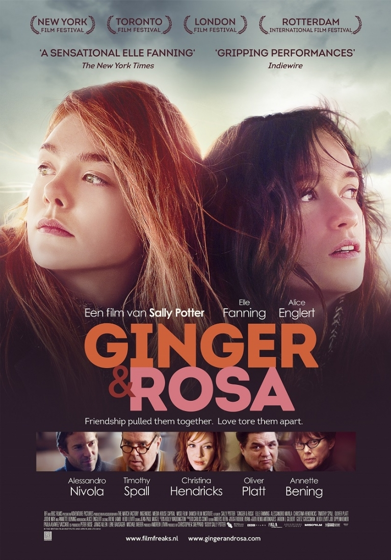Ginger & Rosa poster, © 2012 Filmfreak Distributie