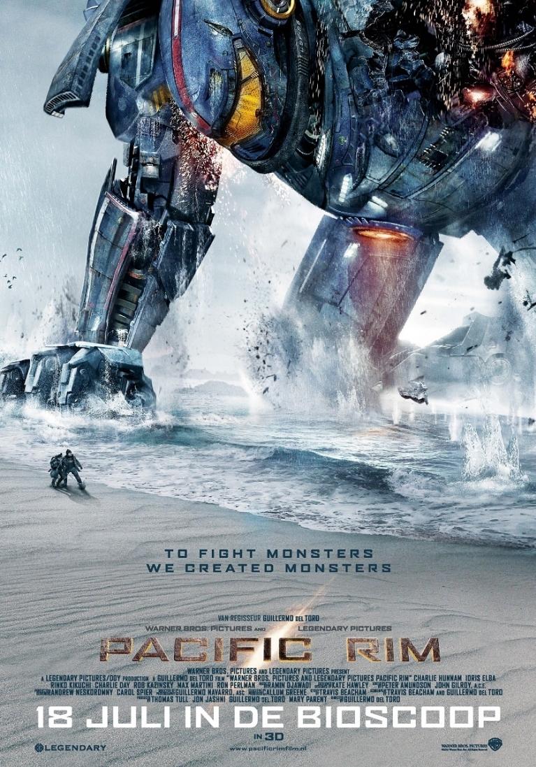 Pacific Rim poster, © 2013 Warner Bros.