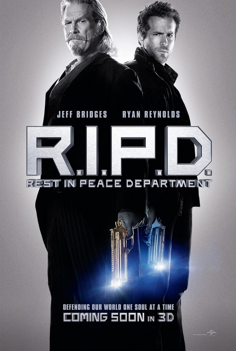 R.I.P.D. poster, © 2013 Universal Pictures
