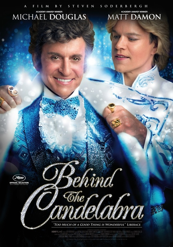 Behind the Candelabra poster, © 2013 Dutch FilmWorks