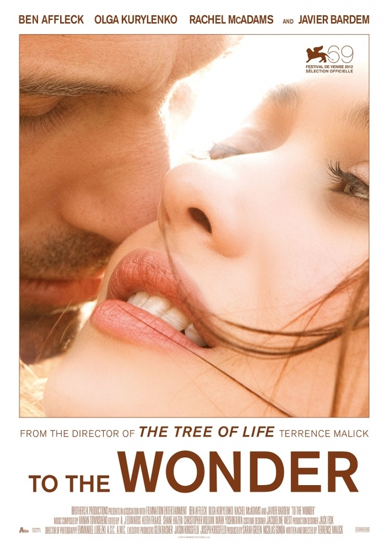 To the Wonder poster, © 2012 A-Film Distribution