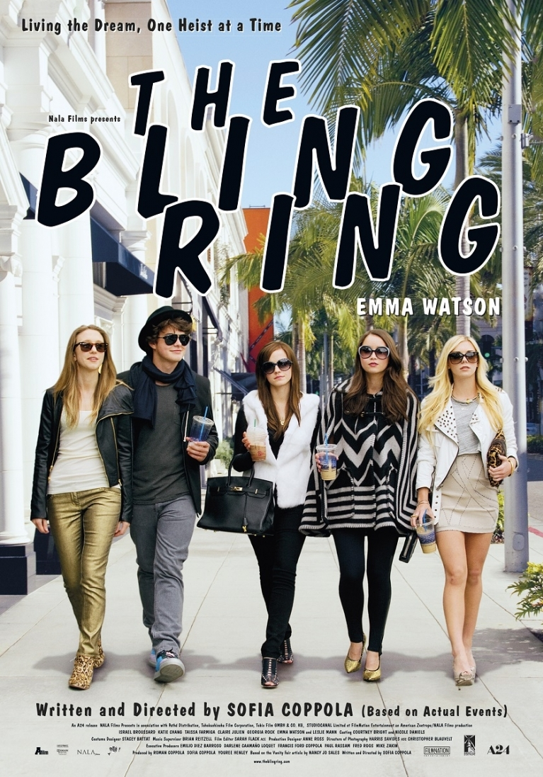 The Bling Ring poster, © 2013 A-Film Distribution