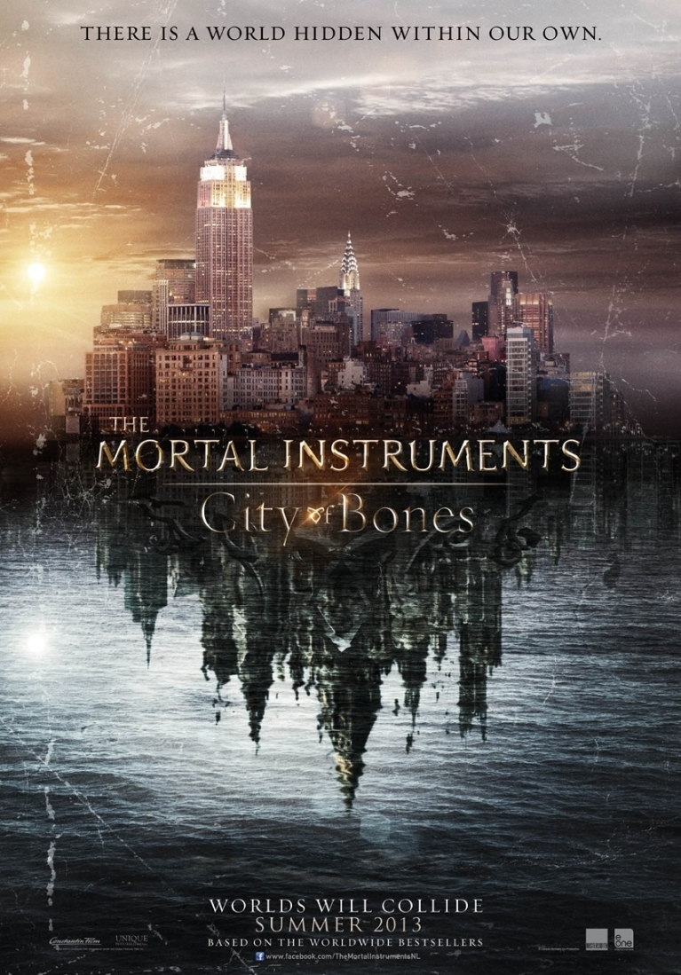 The Mortal Instruments: City of Bones poster, © 2013 E1 Entertainment Benelux