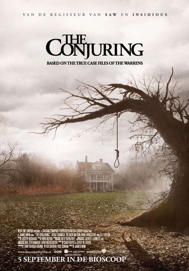 The Conjuring poster, © 2013 Warner Bros.