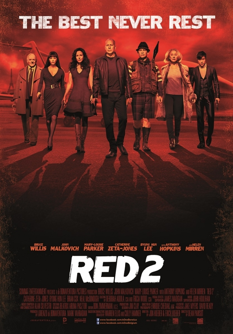 Red 2 poster, © 2013 E1 Entertainment Benelux