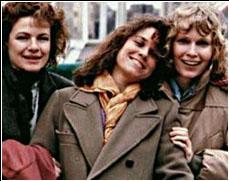 Still uit film met Carrie Fisher, Barbara Hershey en Mia Farrow, (c) 1998 Mercury Center