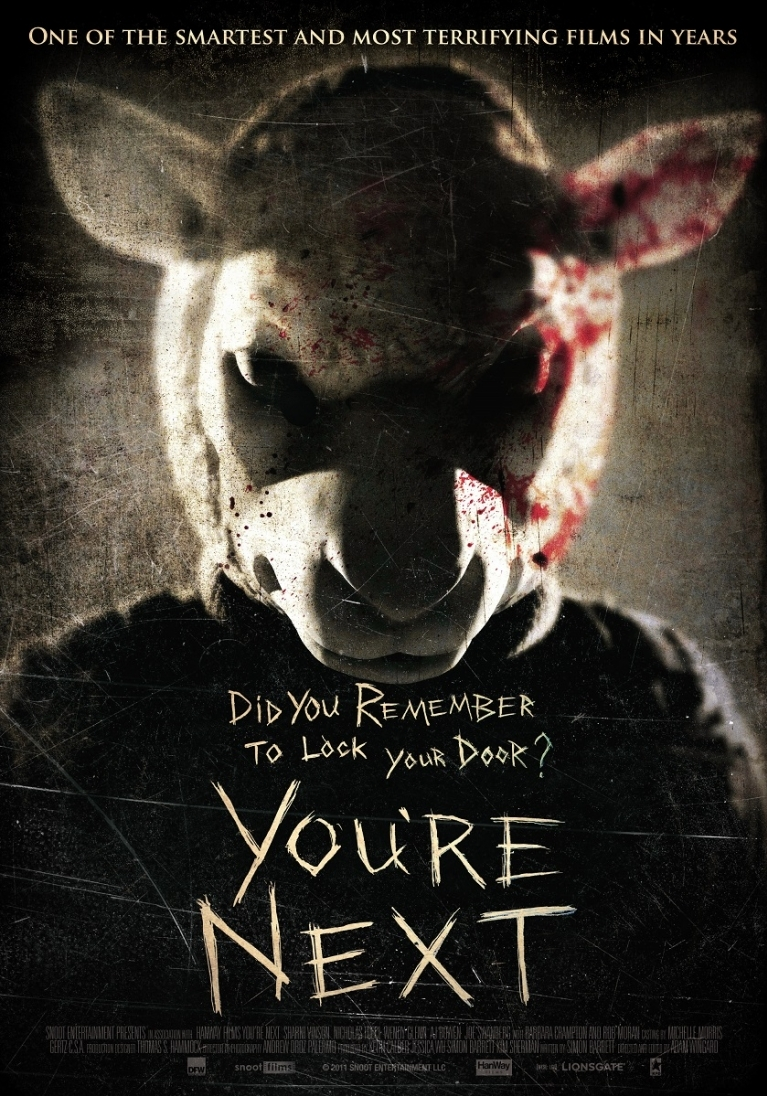 You're Next poster, © 2011 Dutch FilmWorks