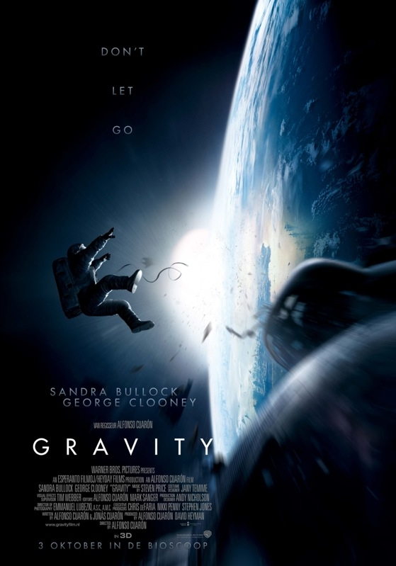 Gravity poster, © 2013 Warner Bros.