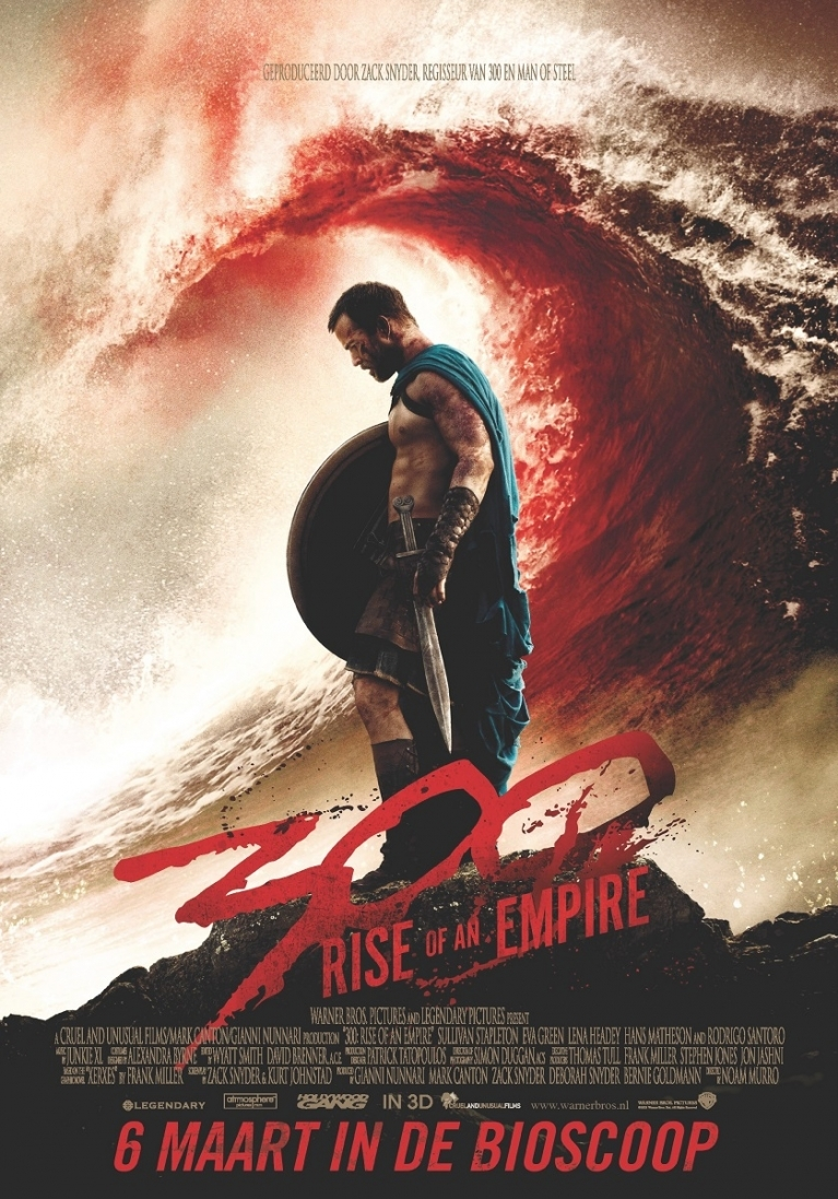 300: Rise of an Empire poster, © 2013 Warner Bros.