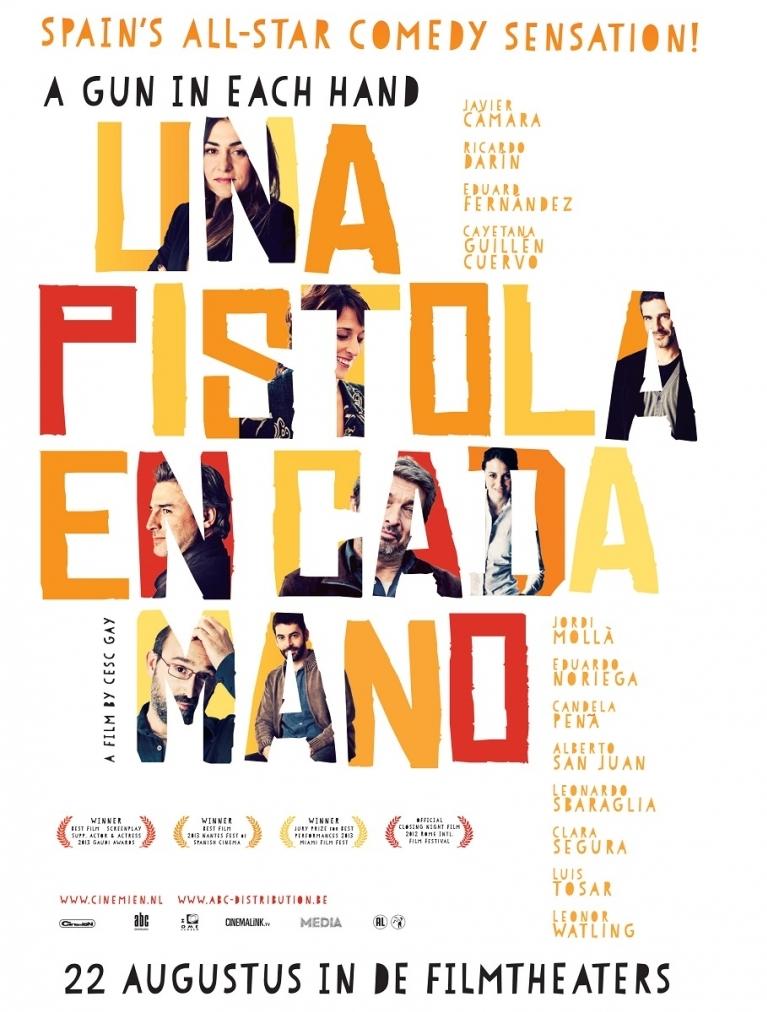 Una pistola en cada mano poster, © 2012 Cinemien