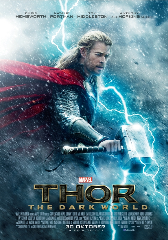 Thor: The Dark World poster, © 2013 Walt Disney Pictures