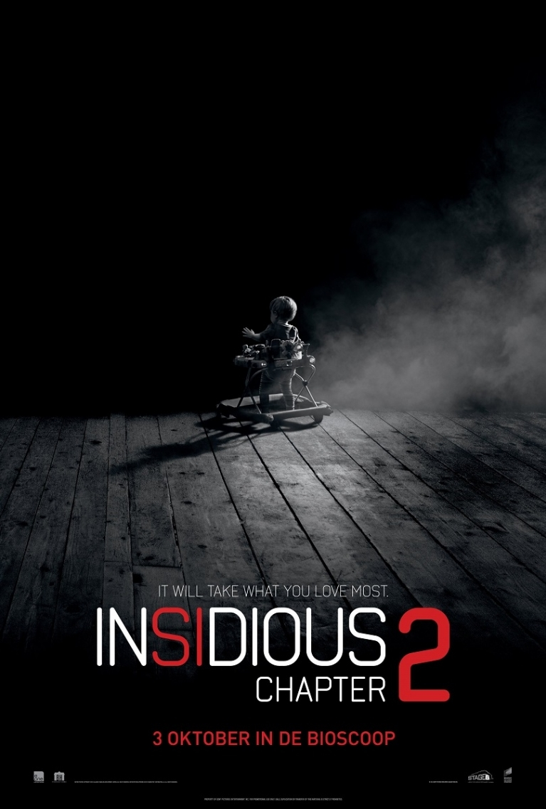 Insidious: Chapter 2 poster, © 2013 Sony Pictures Releasing