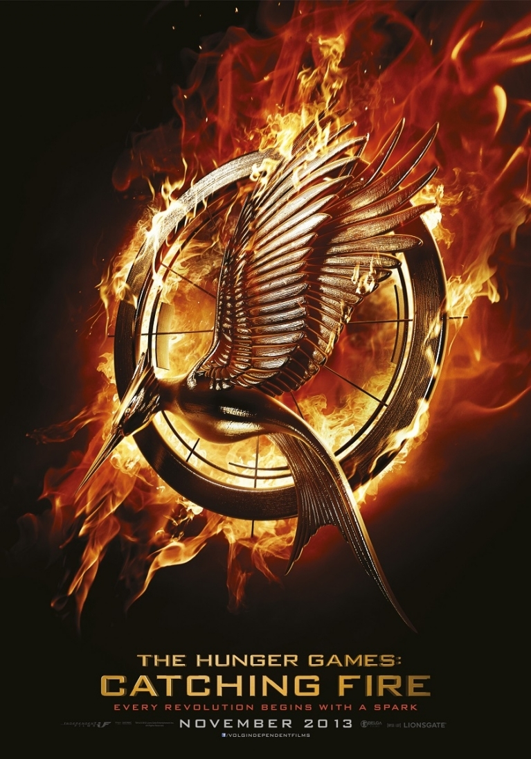 The Hunger Games: Catching Fire poster, © 2013 Independent Films