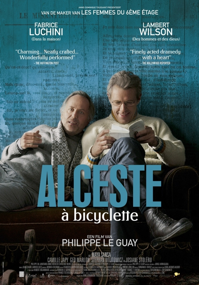 Alceste à bicyclette poster, © 2013 Filmfreak Distributie
