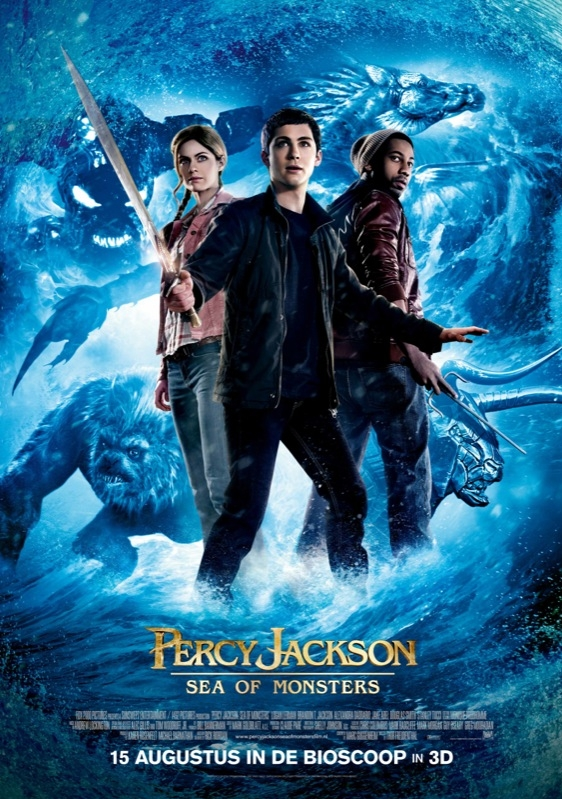 Percy Jackson: Sea of Monsters poster, © 2013 20th Century Fox