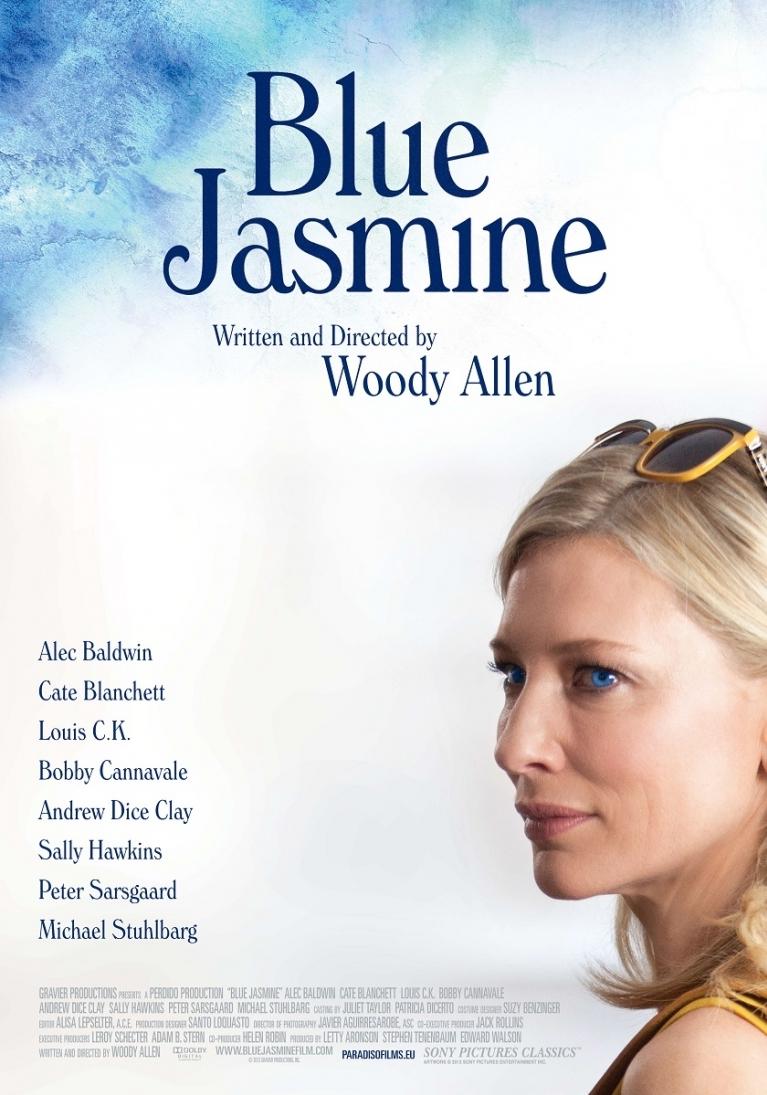 Blue Jasmine poster, © 2013 Paradiso