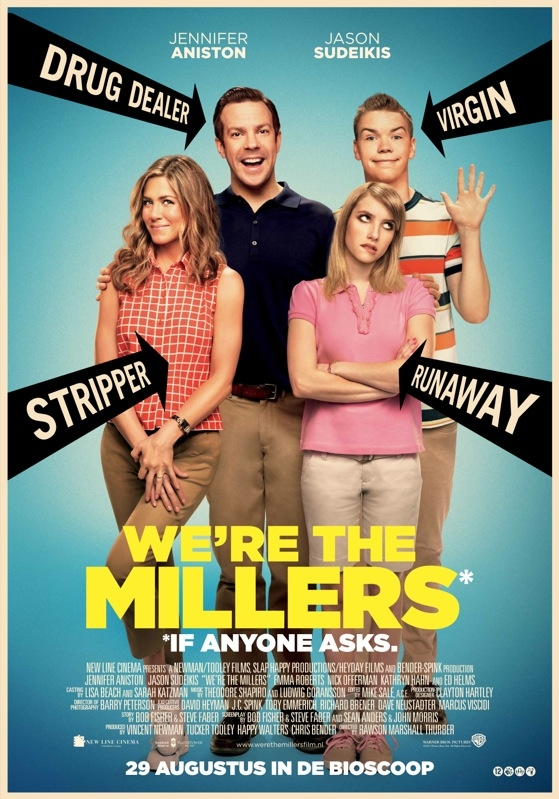 We're the Millers poster, © 2013 Warner Bros.