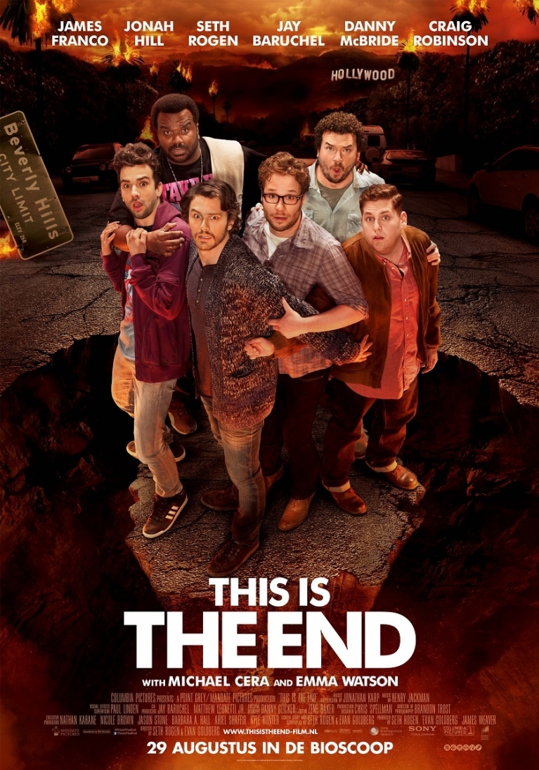 This Is the End poster, © 2013 Sony Pictures Releasing