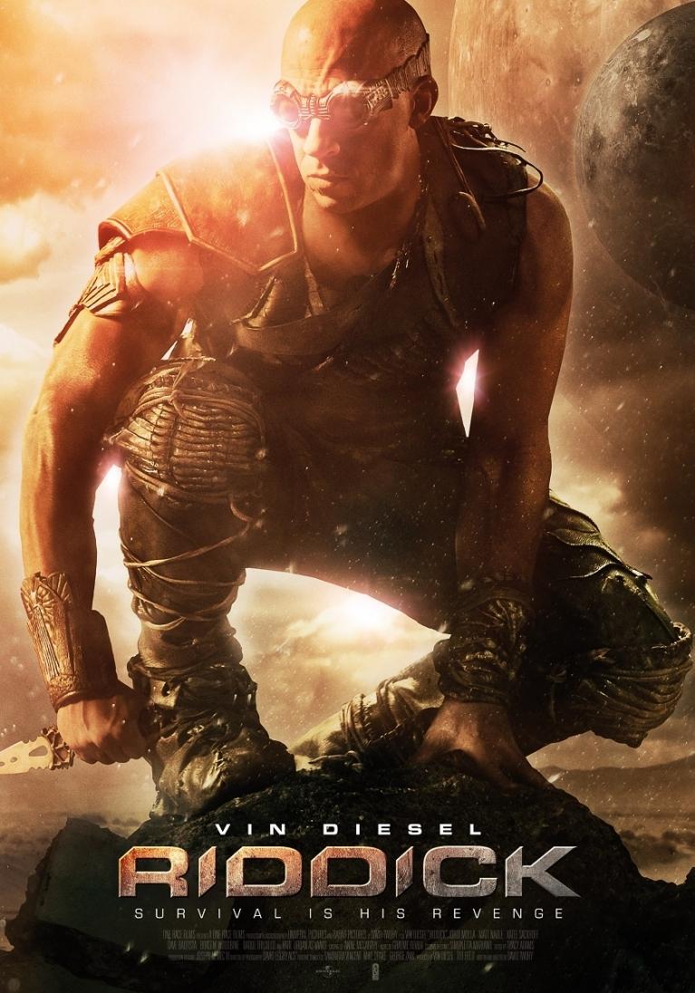Riddick poster, © 2013 Dutch FilmWorks