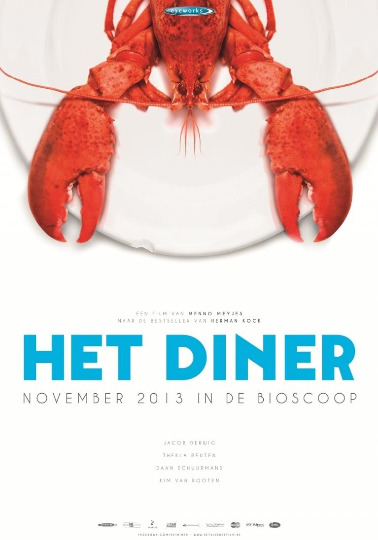 Het Diner poster, © 2013 Benelux Film Distributors