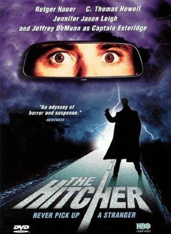 The Hitcher (1986) poster, copyright in handen van productiestudio en/of distributeur