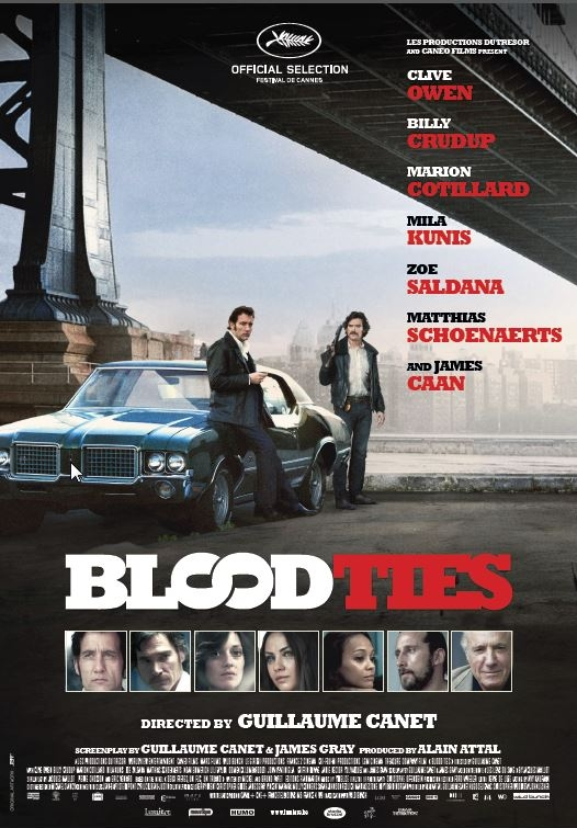 Blood Ties poster, © 2013 Lumière