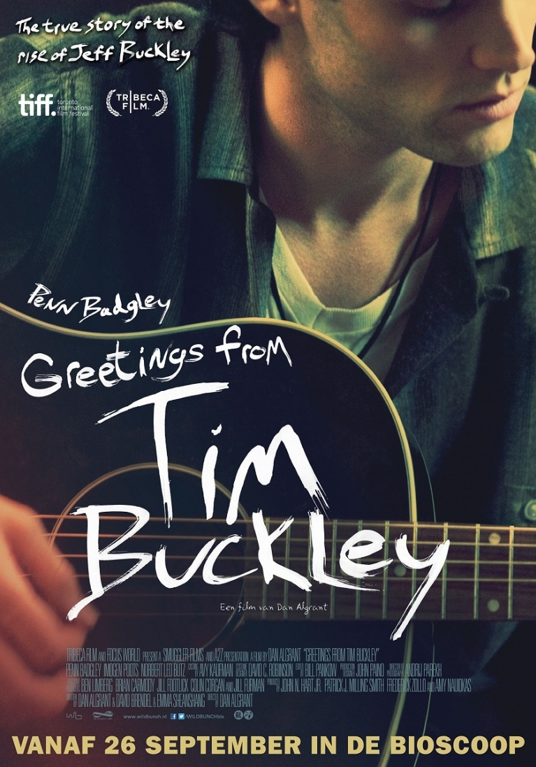 Greetings from Tim Buckley poster, © 2012 Wild Bunch