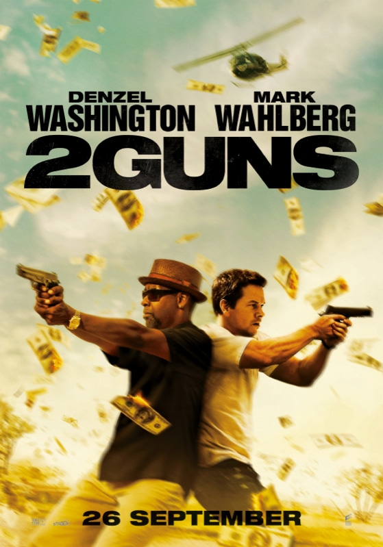 2 Guns poster, © 2013 Universal Pictures International