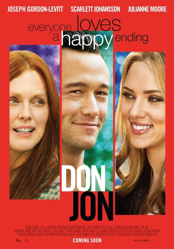 Don Jon poster, © 2013 A-Film Distribution