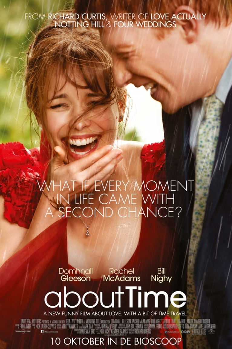 About Time poster, © 2013 Universal Pictures International