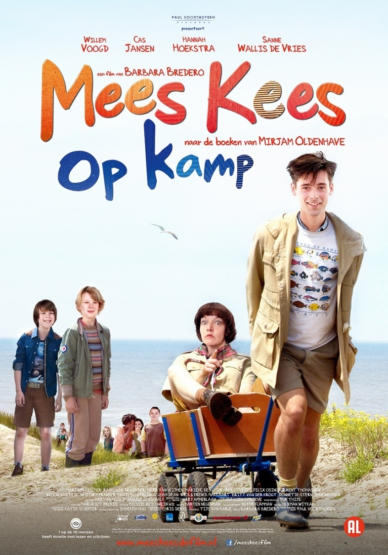 Mees Kees op kamp poster, © 2013 E1 Entertainment Benelux