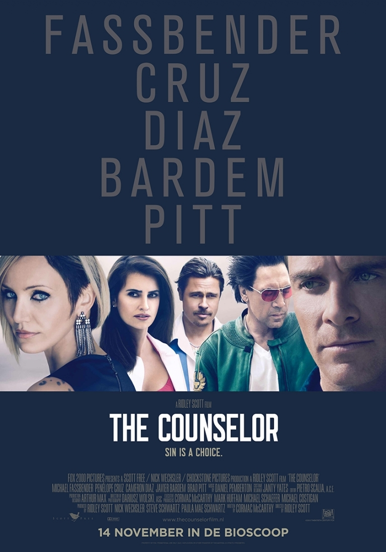The Counselor poster, © 2013 20th Century Fox