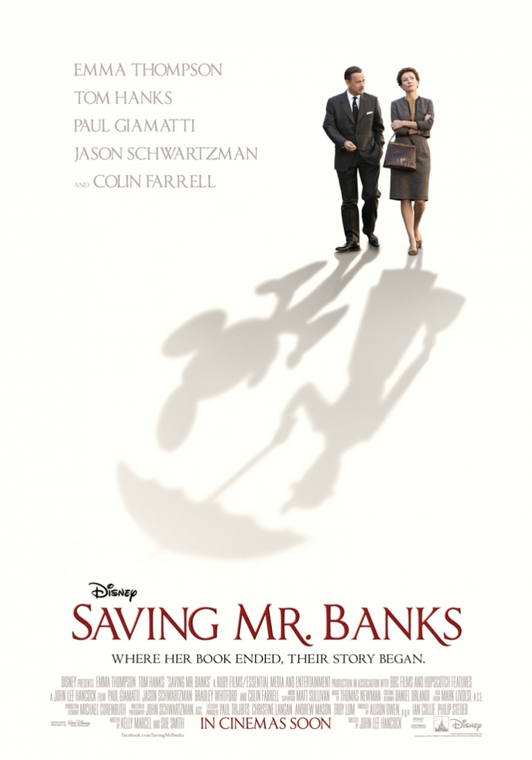 Saving Mr. Banks poster, © 2013 Walt Disney Pictures