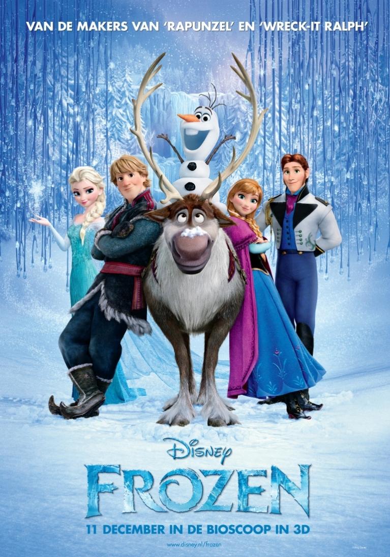 Frozen poster, © 2013 Walt Disney Pictures