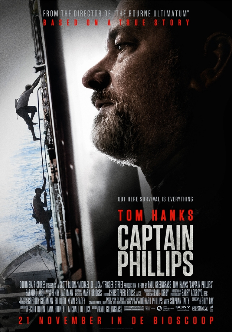 Captain Phillips poster, © 2013 Universal Pictures International