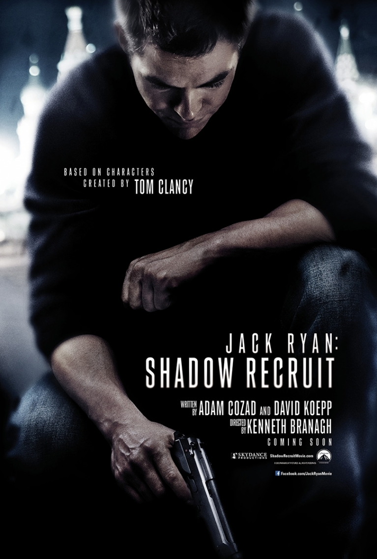Jack Ryan: Shadow Recruit poster, © 2013 Universal Pictures International