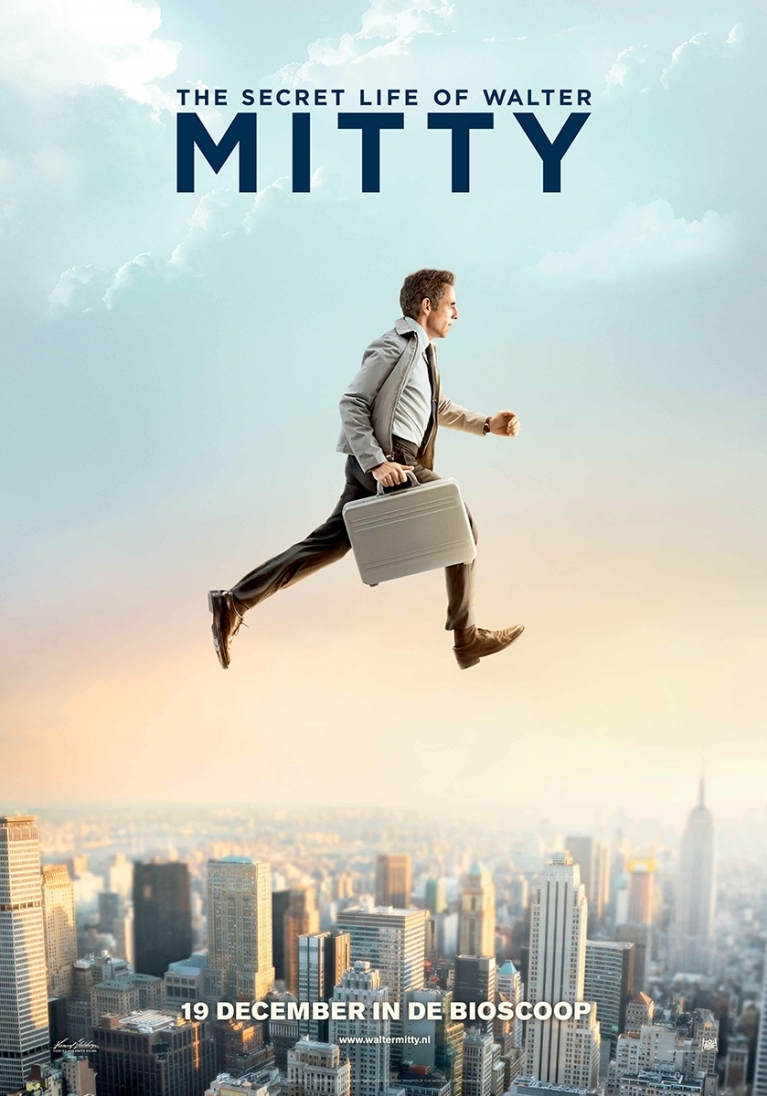The Secret Life of Walter Mitty poster, © 2013 20th Century Fox