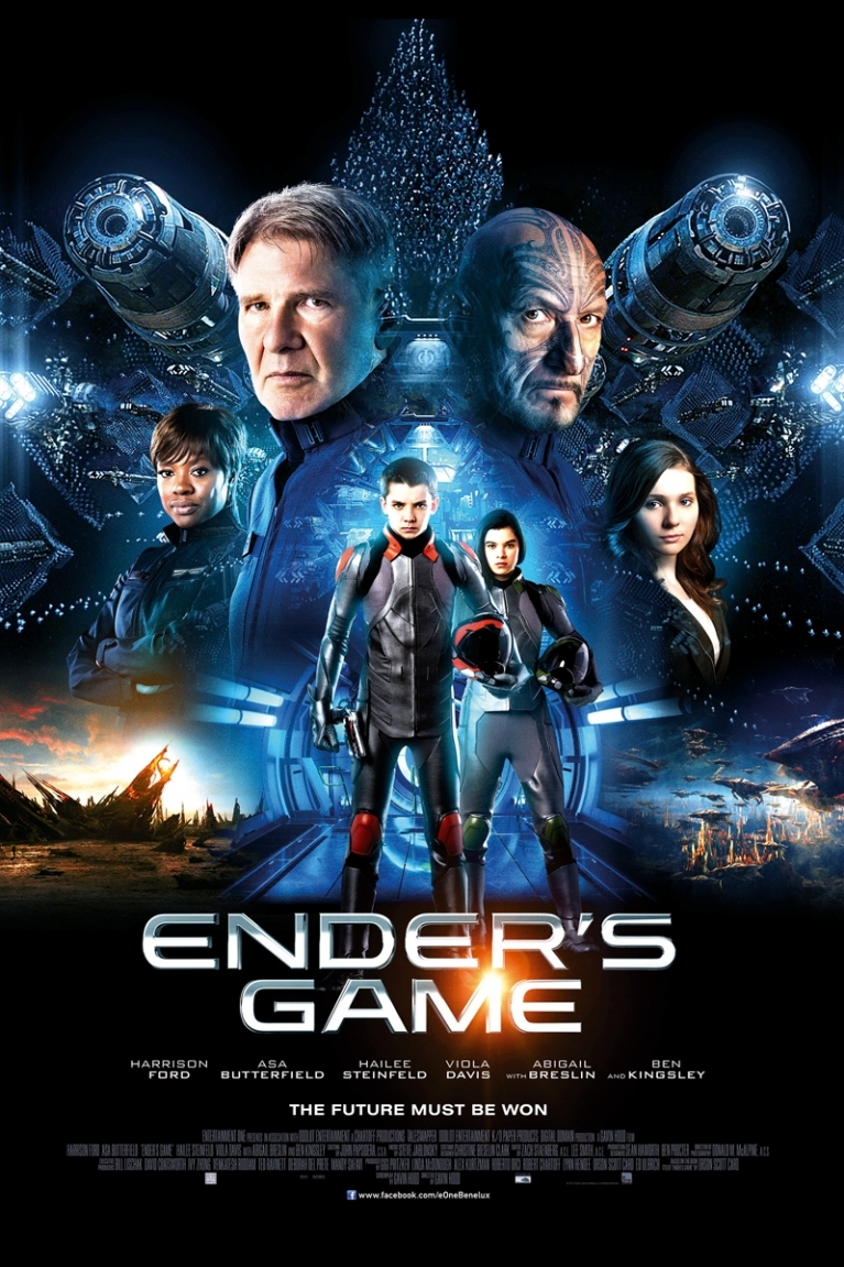 Ender's Game poster, © 2013 E1 Entertainment Benelux