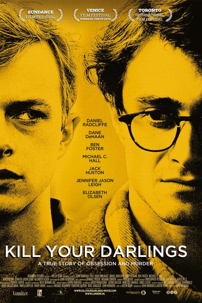 Kill Your Darlings poster, © 2013 Lumière