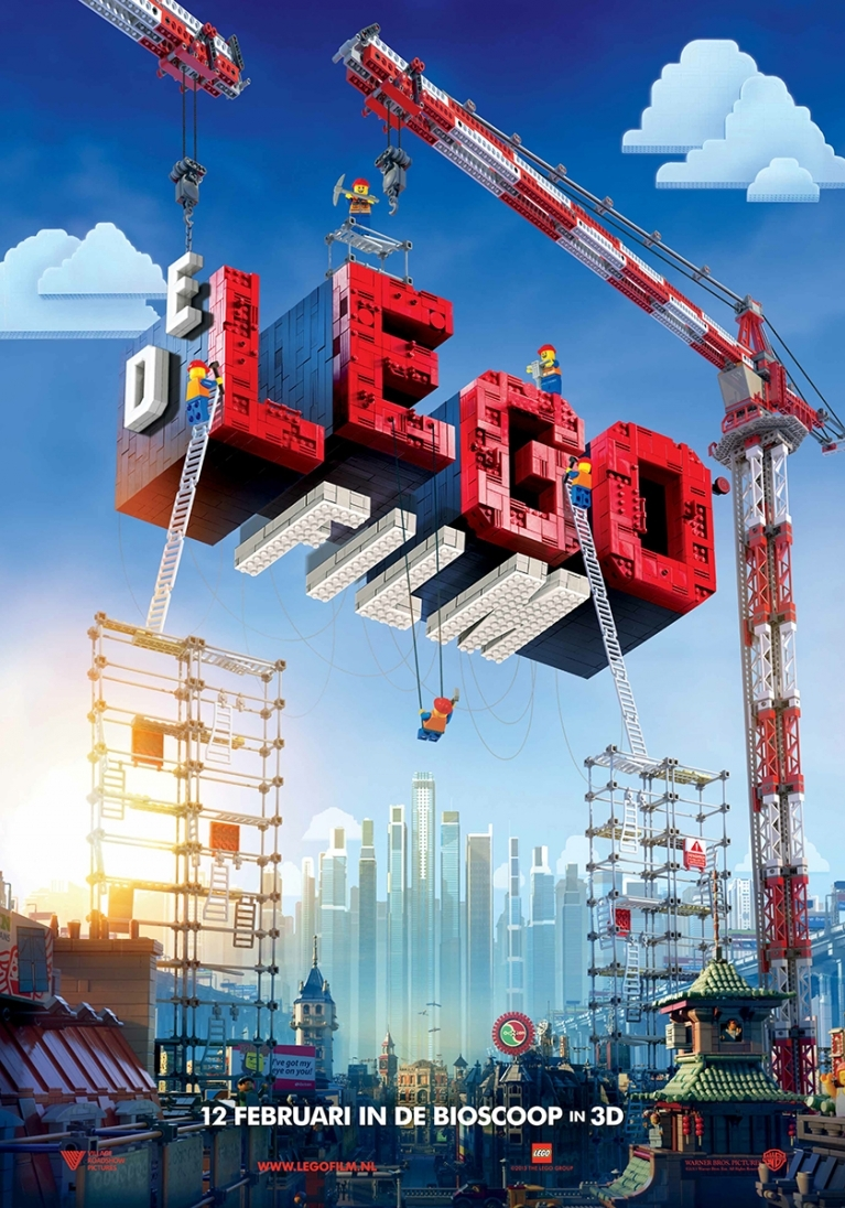 The Lego Movie poster, © 2014 Warner Bros.