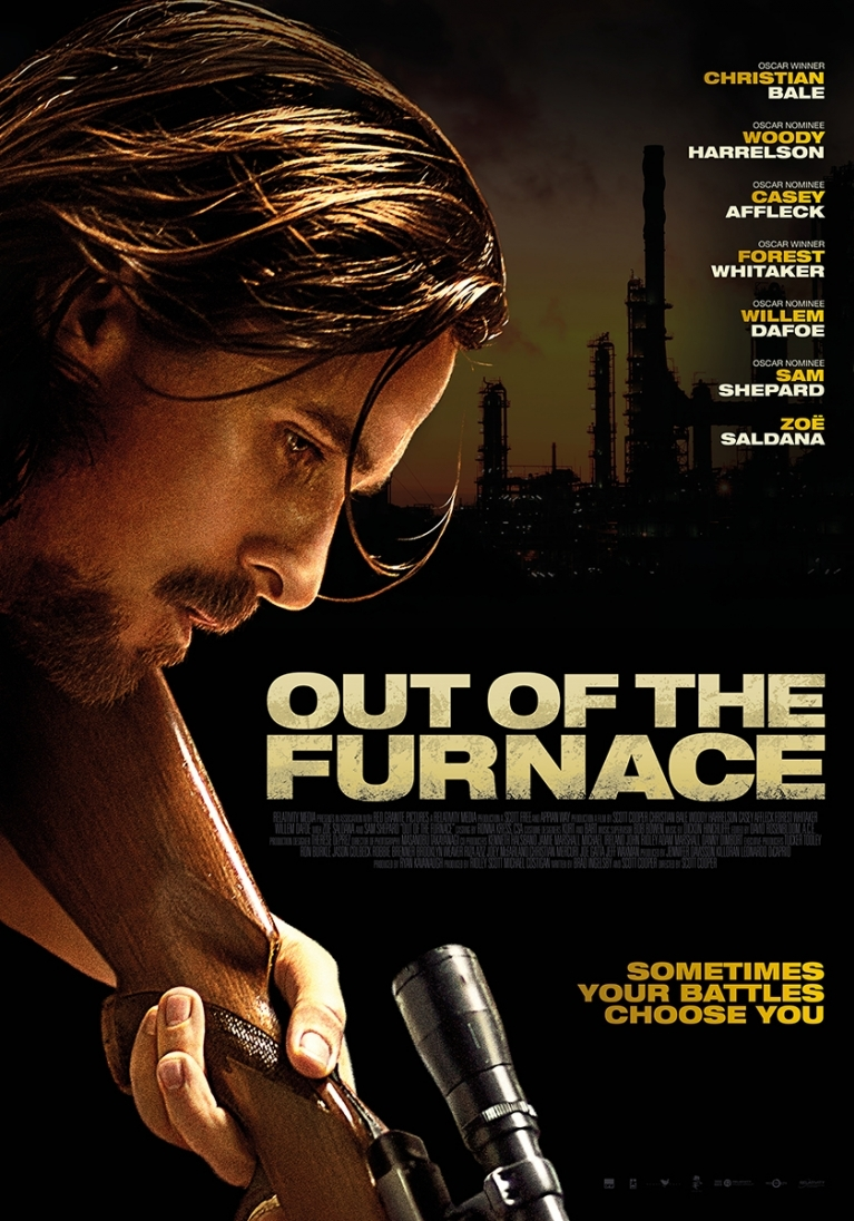 Out of the Furnace poster, © 2013 Dutch FilmWorks