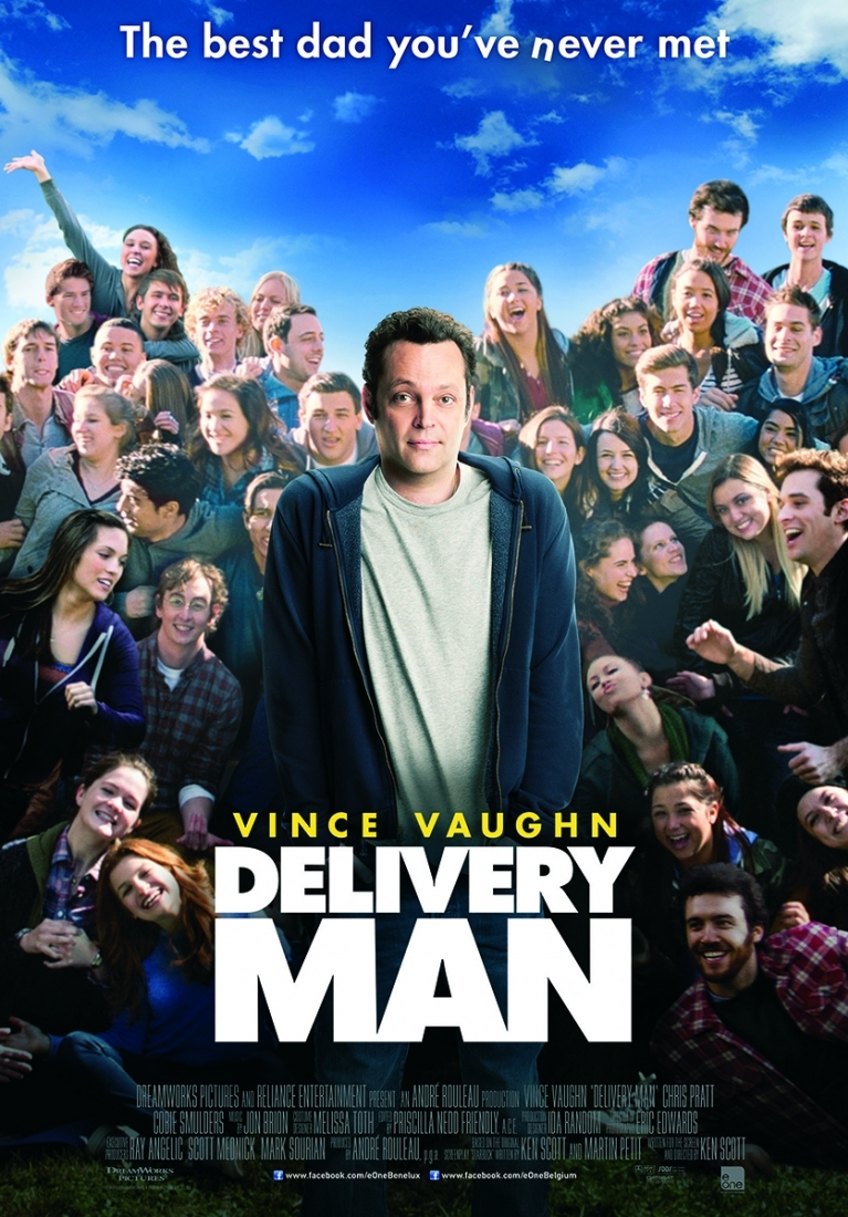 Delivery Man poster, © 2013 E1 Entertainment Benelux