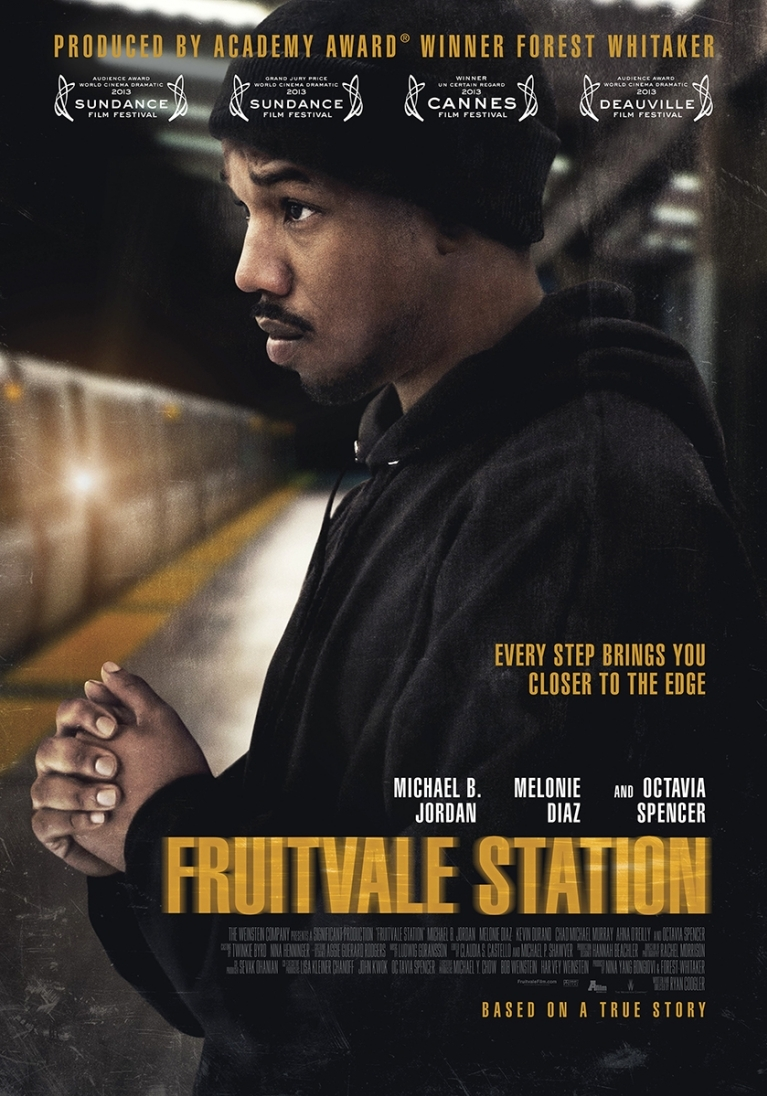 Fruitvale Station poster, © 2013 A-Film Distribution